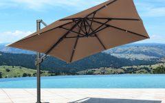 Voss Cantilever Sunbrella Umbrellas