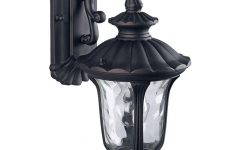 Brierly Oil Rubbed Bronze/black 12'' H Outdoor Wall Lanterns