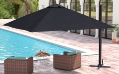 Grote Liberty Aluminum Square Cantilever Umbrellas