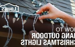 Hanging Outdoor Christmas Lights Hooks