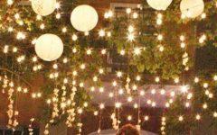Outdoor Hanging Paper Lantern Lights