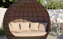 Hatley Patio Daybeds With Cushions