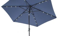 Herlinda Solar Lighted Market Umbrellas