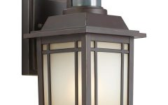 Outdoor Wall Light Fixtures With Motion Sensor