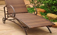 Resin Wicker Multi-position Chaises