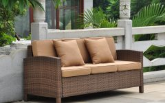 Katzer Patio Sofas with Cushions