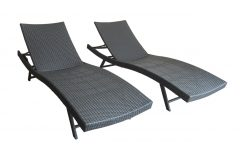Kauai Outdoor Wicker Chaise Lounges