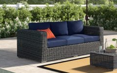 Keiran Patio Sofas With Cushions