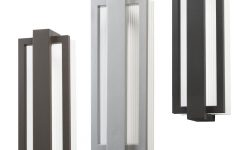 Contemporary Outdoor Lighting Sconces