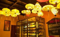 Outdoor Vietnamese Lanterns
