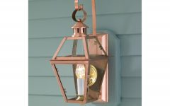 Copper Outdoor Wall Lighting