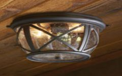 Outdoor Ceiling Fans with Motion Sensor Light