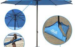 Leasure Fiberglass Portable Beach Umbrellas