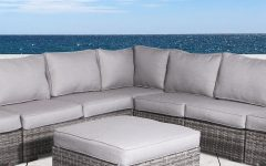 Letona Patio Sectionals with Cushions