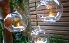 Hanging Outdoor Tea Light Lanterns