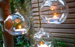 Hanging Outdoor Tea Light Lanterns