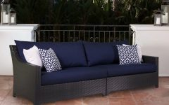 Madison Avenue Patio Sectionals With Sunbrella Cushions