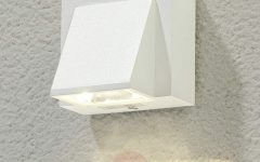 White Led Outdoor Wall Lights