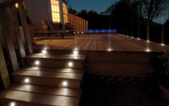 Modern Garden Low Voltage Deck Lighting