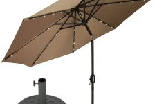 Branscum Lighted Umbrellas