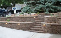 Outdoor Block Wall Lighting