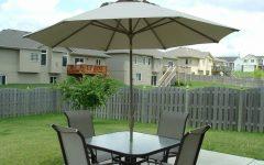 Patio Tables with Umbrella Hole