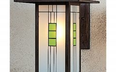 Craftsman Outdoor Wall Lighting