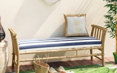 Grosvenor Bamboo Patio Daybeds With Cushions