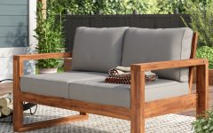 Lyall Loveseats with Cushion