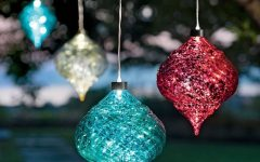 Outdoor Hanging Ornament Lights