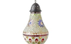 Outdoor Mosaic Lanterns