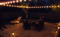 Hanging Outdoor Cafe Lights