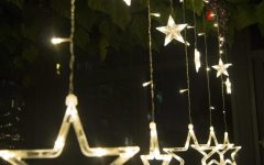 Outdoor Hanging Star Lights