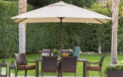 Rectangle Patio Umbrellas