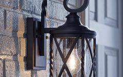 Meunier Glass Outdoor Wall Lanterns