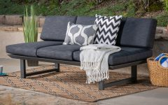 Lobdell Patio Sofas With Cushions