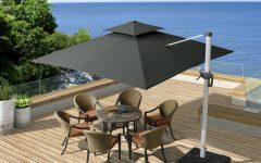 Mald Square Cantilever Umbrellas