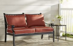 Nadine Loveseats with Cushions