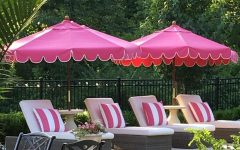 Pink Patio Umbrellas