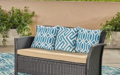 Mullenax Outdoor Loveseats with Cushions