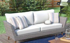 Newbury Patio Sofas With Cushions