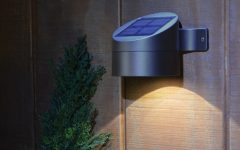 Modern Led Solar Garden Lighting Fixture