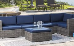 Ostrowski Patio Sectionals with Cushions