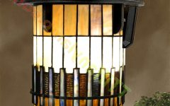 Stained Glass Outdoor Wall Lights