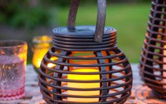 Outdoor Rattan Lanterns