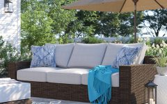Oreland Patio Sofas with Cushions