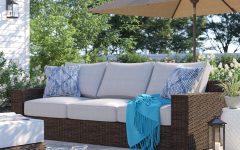 Oreland Patio Sofas With Cushions