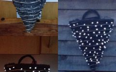 Outdoor Hanging Basket Lights