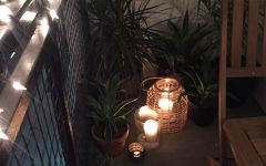 Outdoor Tropical Lanterns
