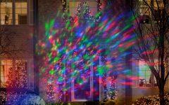 Outdoor Wall Xmas Lights